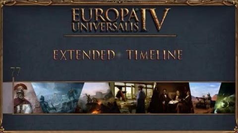 Europa Universalis IV - Extended Timeline Trailer