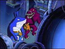 Extreme dinosaurs sharkonauts 01