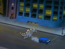 Godzilla in Extreme Dinosaurs