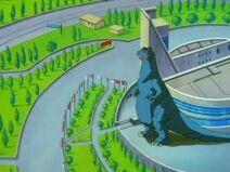 Godzilla in Extreme Dinosaurs 3