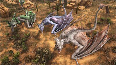 Wyverns | Extinction Core Wiki | FANDOM powered by Wikia