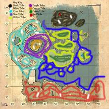 Tribe kibble map extinction core