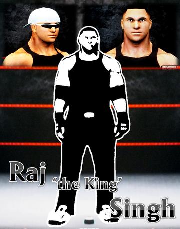 Raj 'the King' Singh *Poster*
