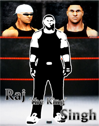 File:Raj 'the King' Singh *Poster*.png