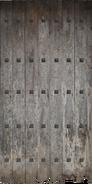E03 wooden door