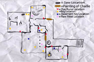 (Edited) Mansion Middle Floor Map