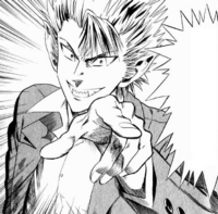 Hiruma gives Sena his alias
