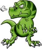 Hakushu Dinosaurs Logo