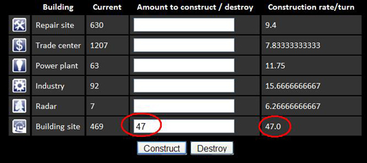 Buildrate