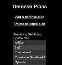 Def plan