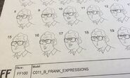 Frank Expressions model sheet
