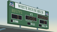 White House Beer Billboard