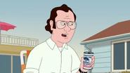 Frank Drinking Beer