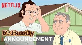 F is for Family Announcement Jonathan Banks is Big Bill Murphy Netflix