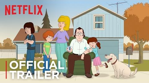 F is for Family Official Trailer HD Netflix