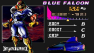 Captain Falcon seleccion F-Zero X