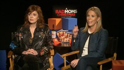 'Bad Moms' Susan Sarandon and Cheryl Hines Reveal the Worst Part of Motherhood