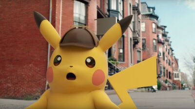 Detective Pikachu On The Big Screen