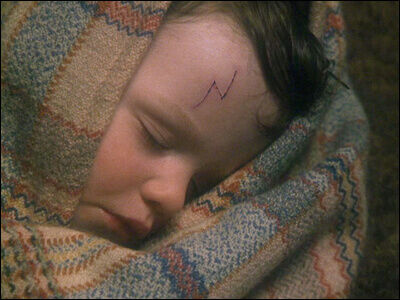 harry potter as a baby