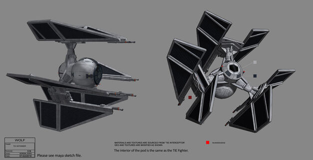 Star Wars Ships TIE Defender