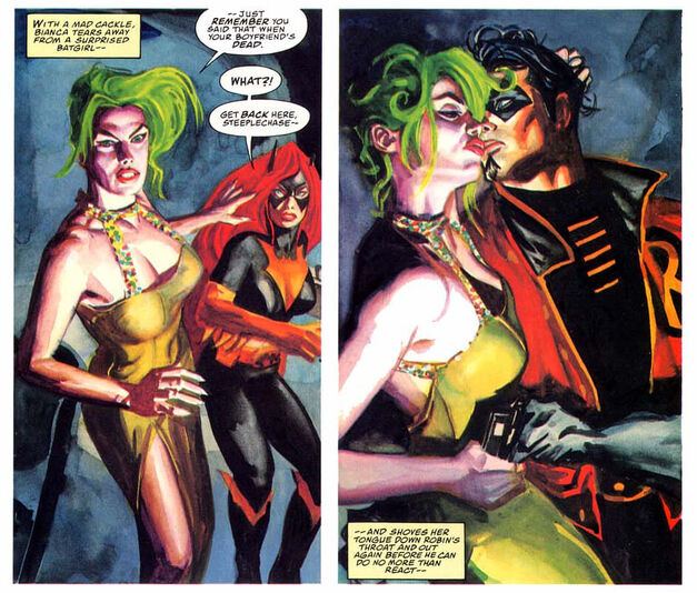 Dead Robin Dick Grayson Joker Batgirl Batman Thrillkiller