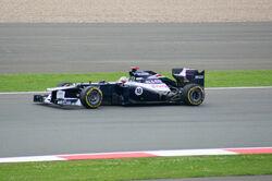 Maldonado 2012 Britain race