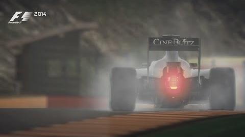 F1 2014 Spa Hot Lap