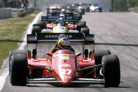 Lap One 1984 Belgian Grand Prix