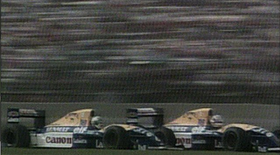 Mansell Patrese MexGP 91