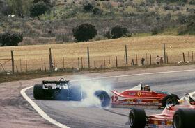 Reutemann Villeneuve Scheckter 1979 Spanish Grand Prix