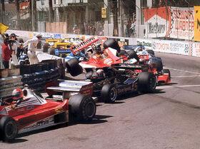 1977 US Grand Prix Start