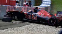 Daniil Kvyat crash 2016 Austrian Grand Prix qualifying