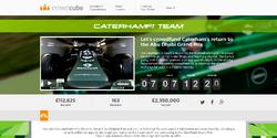 Caterham crowdfunding page