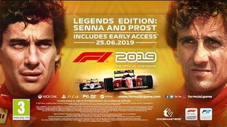 F1® 2019 'Legends Edition Senna and Prost' Reveal Trailer UK
