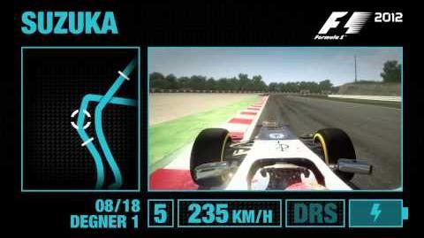F1 2012 - Suzuka Hotlap