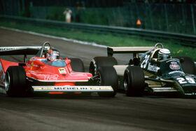 Villeneuve Patrese 1979 Belgian Grand Prix