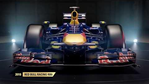F1 2017 Classic Car Reveal – 2010 Red Bull Racing RB6 UK