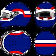 Patrick Depailler Helmet