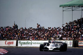 Regazzoni 1979 British Grand Prix