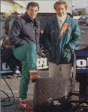 Elio de Angelis & Riccardo Patrese