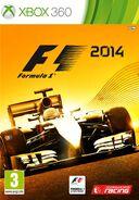 F1 2014 Xbox 360 cover