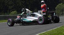Nico Rosberg crash FP3 2016 Austrian Grand Prix
