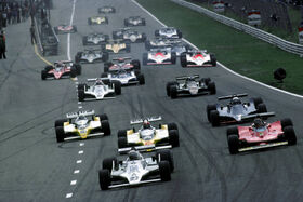Start 1979 Dutch Grand Prix