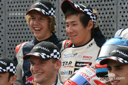 Kobayashi & Vettel In Formula Three