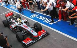 Lewis Hamitlon 2010 Canadian Grand Prix Win