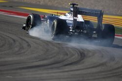 Valtteri Bottas 2013 United States Grand Prix