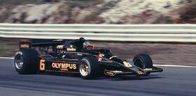 Peterson British Grand Prix 1978