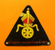 Carel Godin de Beaufort's Ecurie Maarsbergen badge