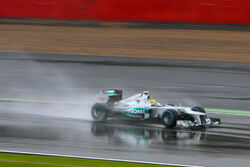 Nico Rosberg Friday 2012 Britain