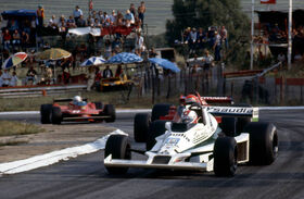 Regazzoni Lauda Scheckter 1979 South African Grand Prix
